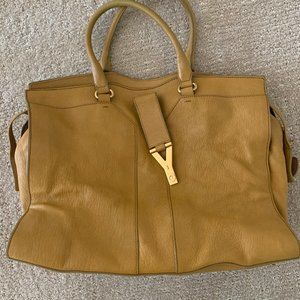 YVES SAINT LAURENT MUSTARD/YELLOW SHOULDER BAG